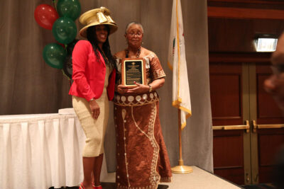 President Haley and Honoree Judy Johnson
