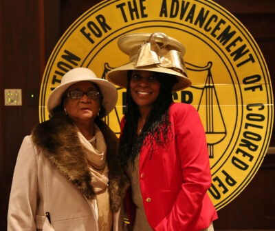 President Haley and Life Member Ms. Daniels