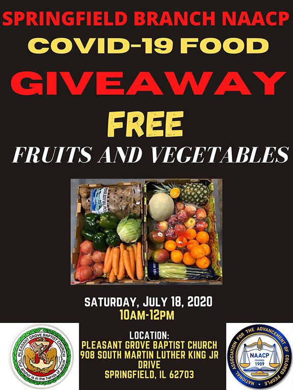 SPRINGFIELD BRANCH NAACP COVID-19 FOOD GIVEAWAY