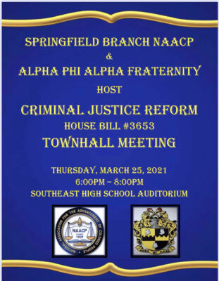 Criminal Justice Reform Townhall Meeting